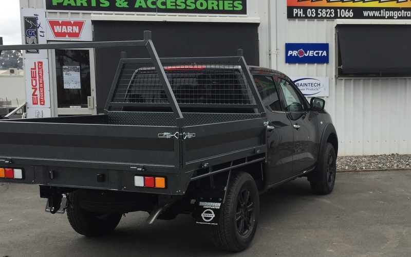 how to make a ute tray trailer